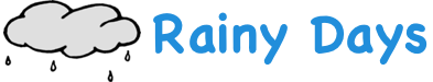 Rainy Days Guttering Logo