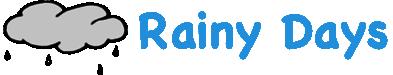 Rainy Days Guttering Logo